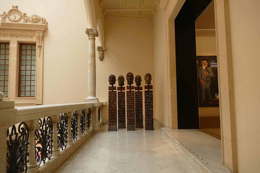 Juan Bordes ORADORES at the Museu d'Art Espanyol Contemporani Fundación Juan March in Palma de Mallorca