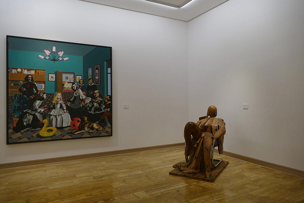 La salita   Equipo Crónica and MANUEL VALDÉS Matisse como pretexto at the Museu d'Art Espanyol Contemporani Fundación Juan March in Palma de Mallorca