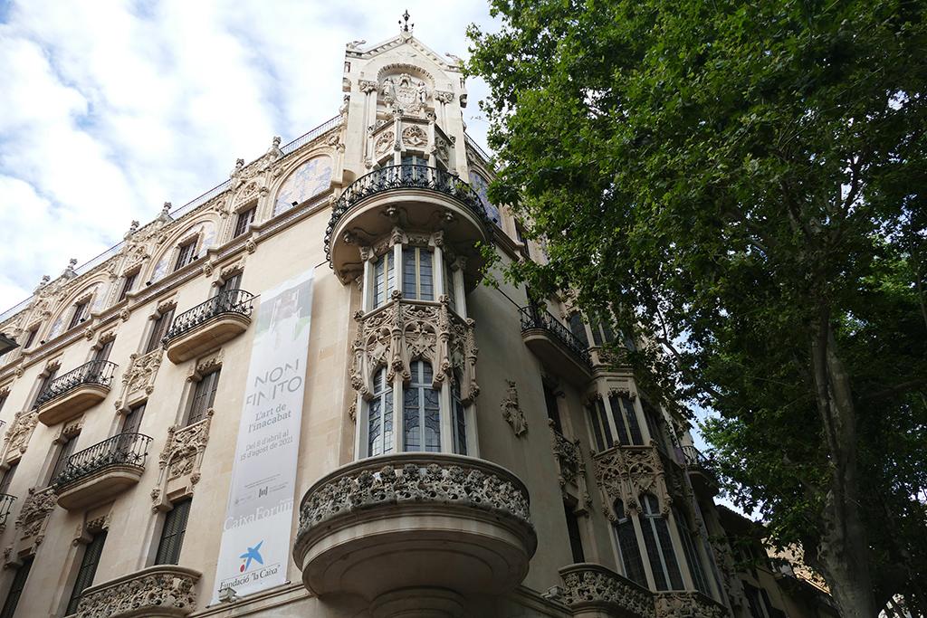 The former Gran Hotel in Palma de Mallorca