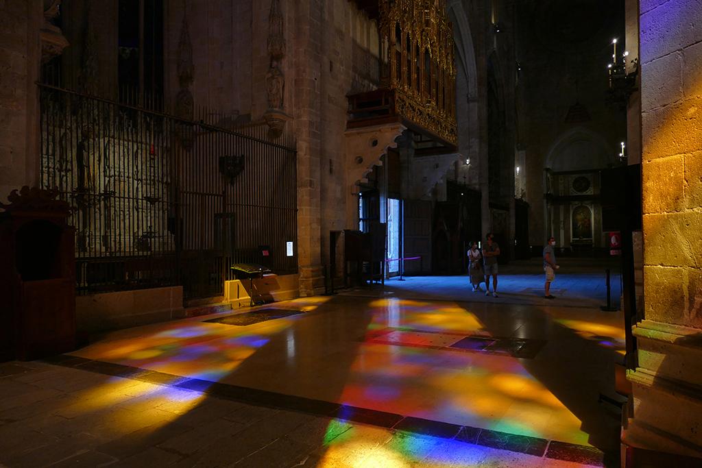 Floor of the  Basílica de Santa María en Palma
