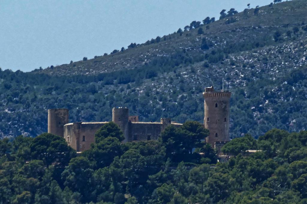 Castell de Bellver on Mallorca