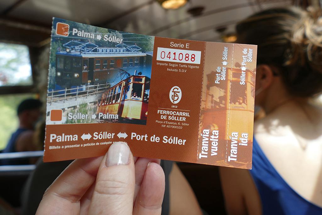 Tickets Tren de Soller