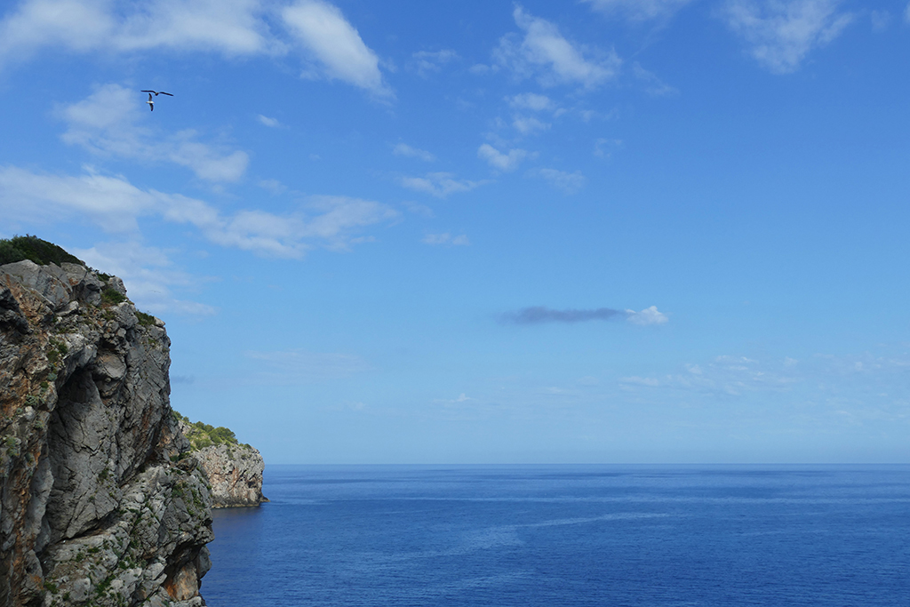 Mediterranean around the island of Mallorca