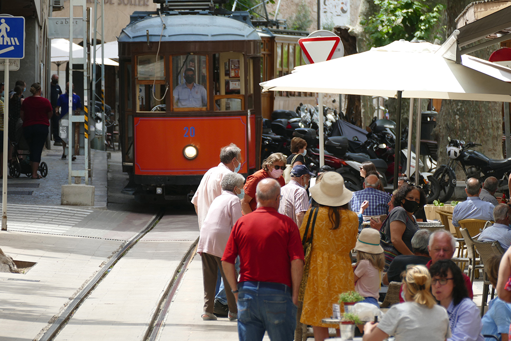 Tramvia at Sollér