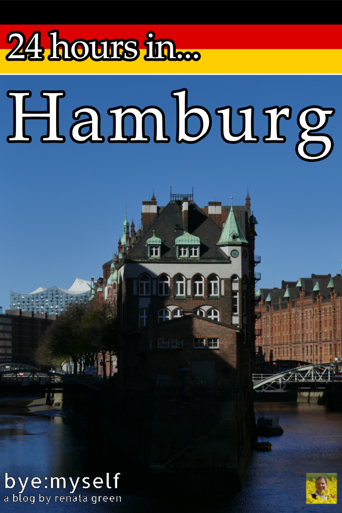 Pinnable Picture for the Post on 24 hours in Hamburg
