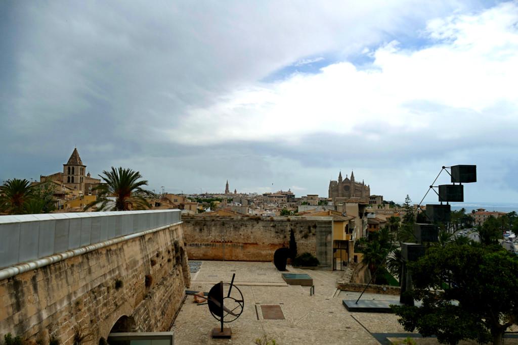 View from the Es Baluard Museum d'Art
