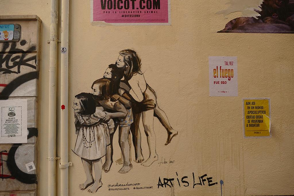 """Art is life"" by @carolinaadancaro (Palma, Mallorca, 2020)"