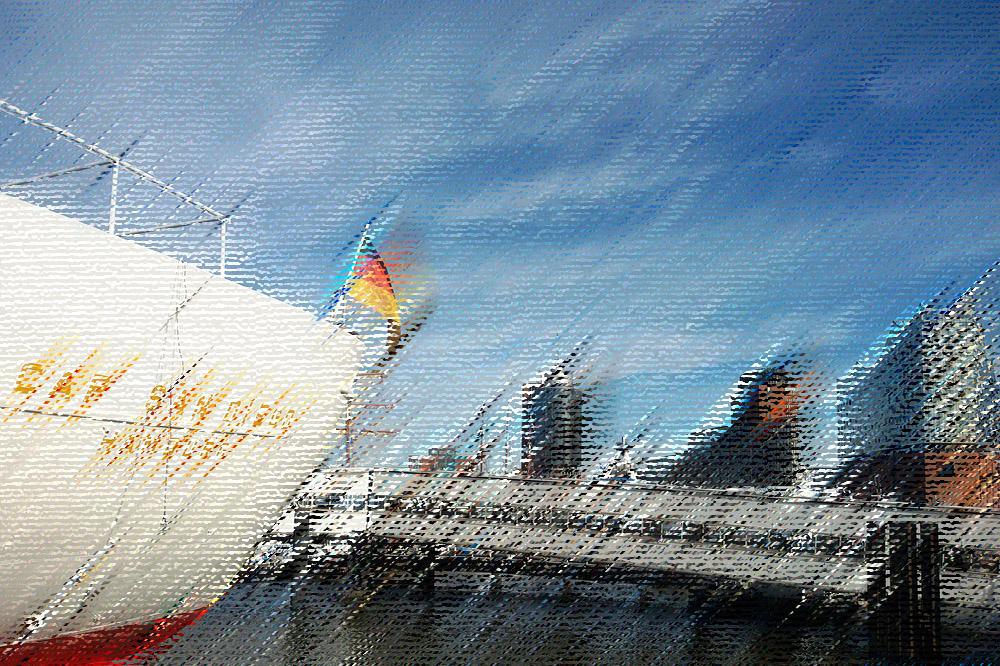 Harbor of Hamburg