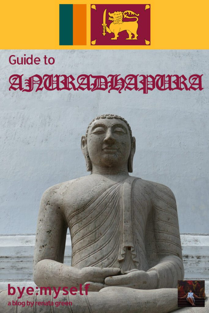 Pinnable Picture for the post on Guide to ANURADHAPURA and MIHINTALE