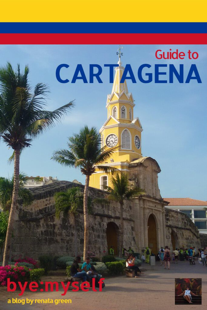 Pinnable Picture on the Post on Two Days in CARTAGENA