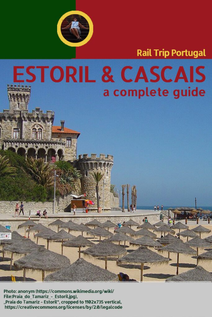 Pinnable Picture for the Post on A Day in Sophisticated ESTORIL and CASCAIS