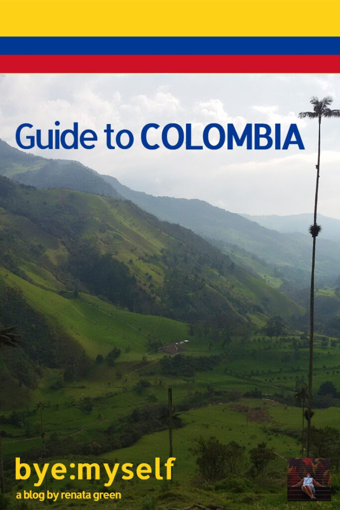 Pinnable Picture on the Post on Solo in COLOMBIA - a comprehensive guide