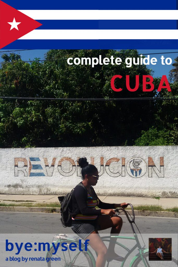 Pinnable Picture on the Post on CUBA - the Complete Guide from Coast to Coast