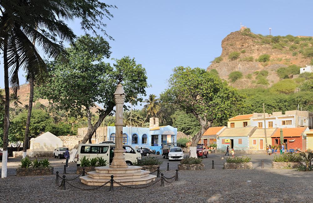 The Pelourinho at Cidade Velha on Cape Verde's main island Santiago