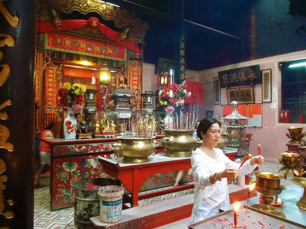 Sin Sze Si Ya Temple in Kuala Lumpur