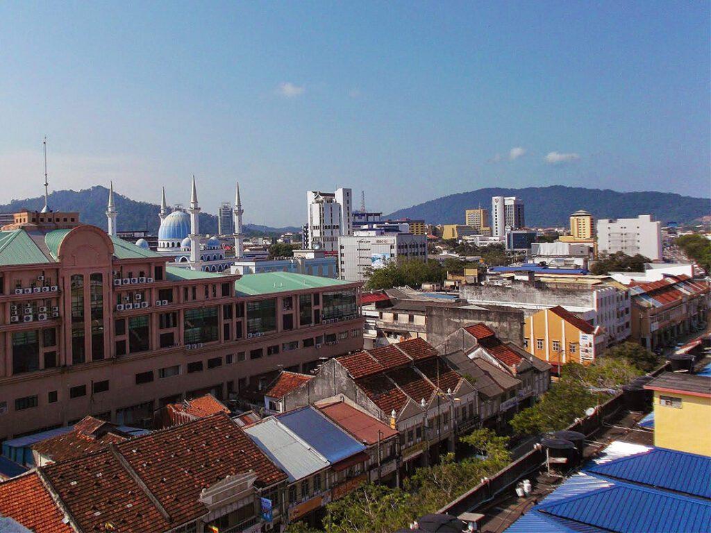 The skyline of Kuantan