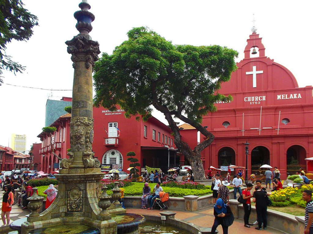 Christ Church, being an Anglican House of Worship, is the oldest Protestant church in Malacca.