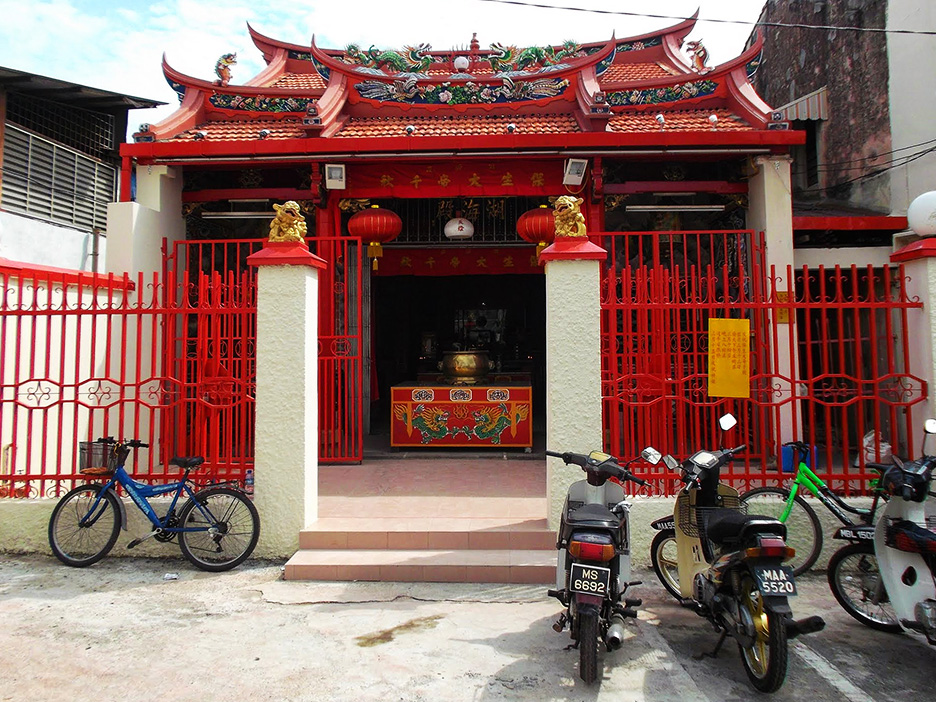 Chinese Temple in Malacca