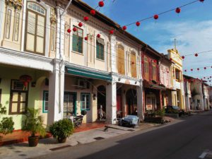 Chinese Row Houses in Malacca