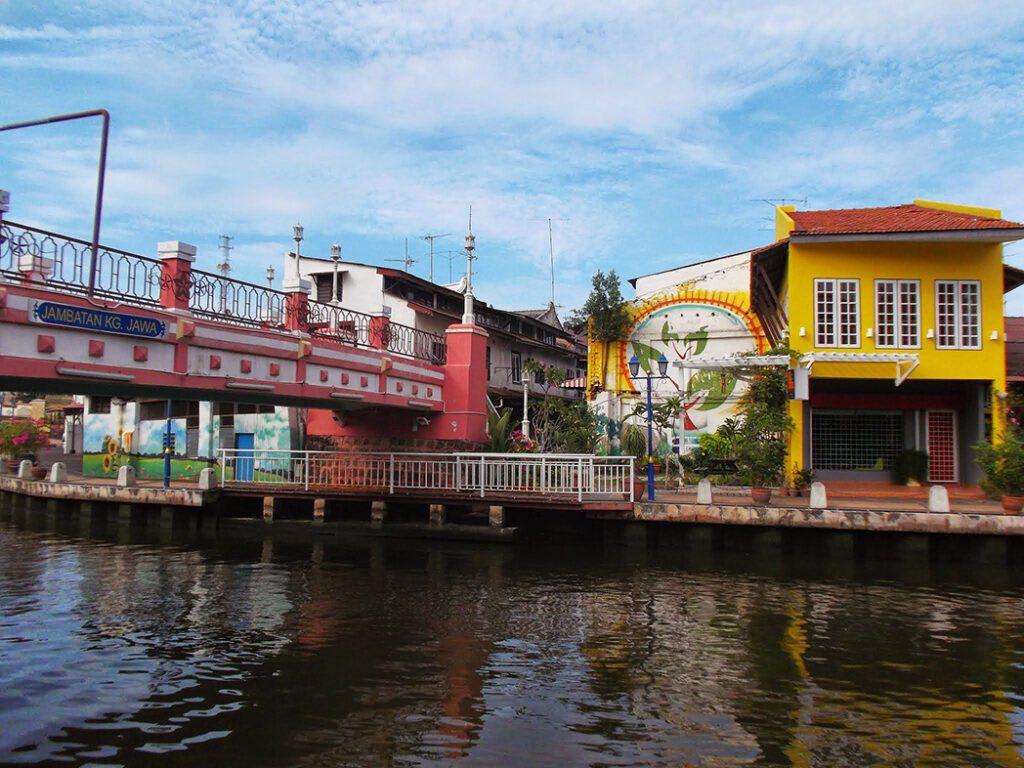 Bridge over the Malacca river