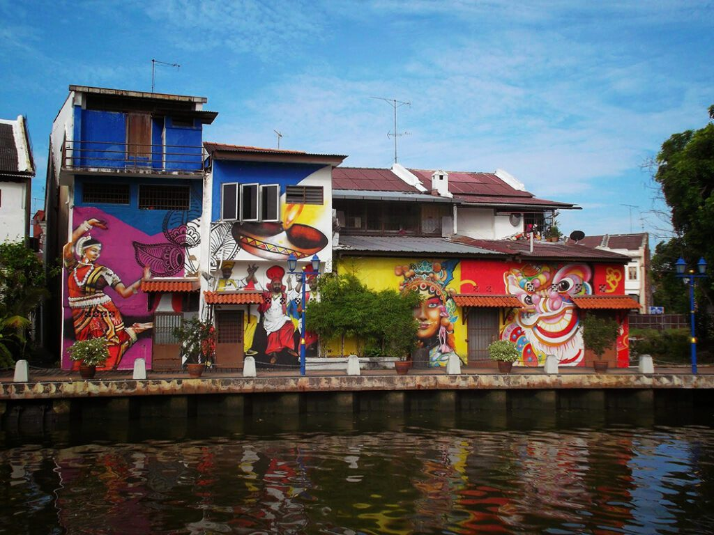 Murals in Malacca