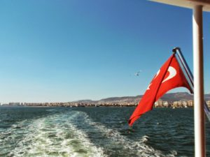 Crossing from Karsiyaka to Izmir by Ferry