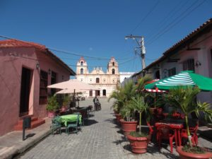 Plaze del Carmen and Iglesia Nuestra Señora del Carmen in Camagüey