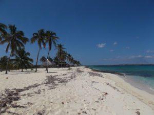 Coco Beach on Playa Santa Lucia Peninsula