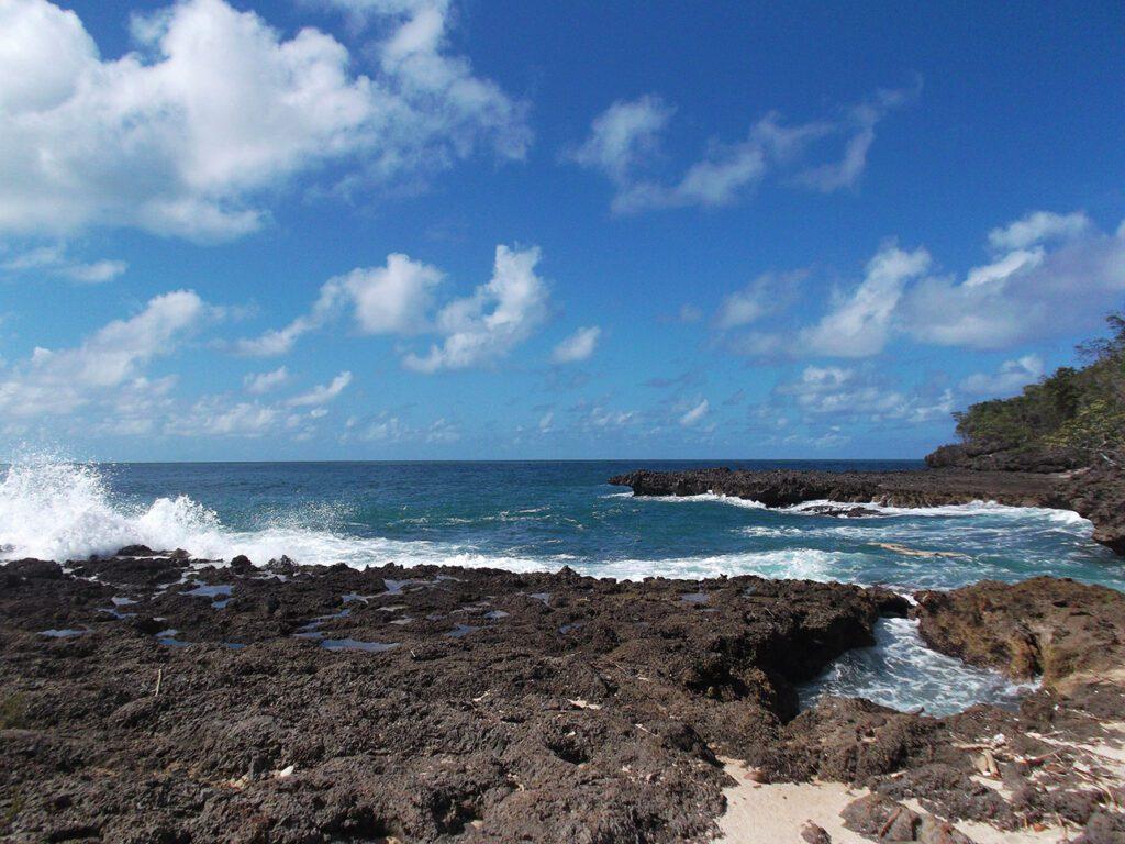 Playa Blanca on the outskirts of Baracoa