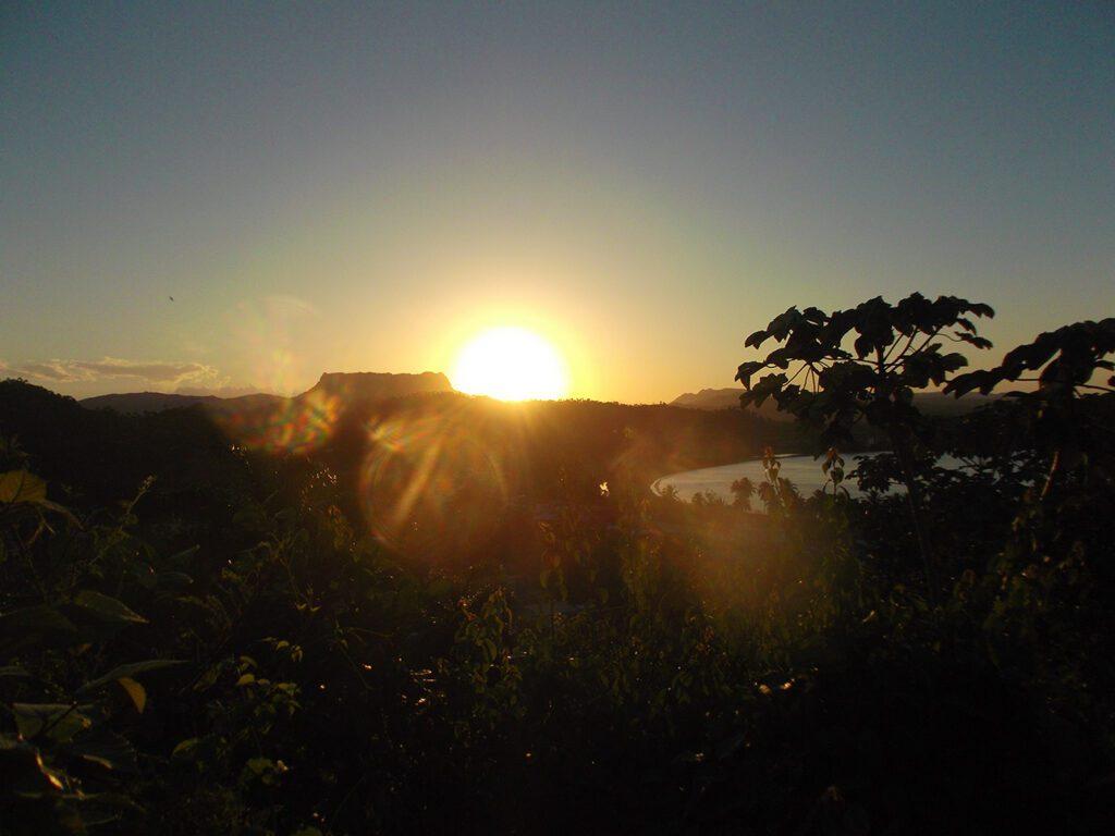 Sunset over Baracoa
