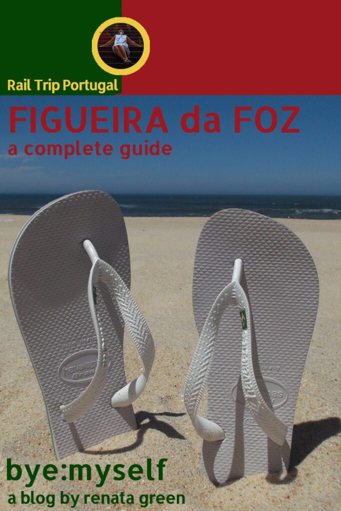 Pinnable Picture for the Post on Guide to FIGUEIRA da FOZ - a Charmingly Old Fashioned Seaside Resort
