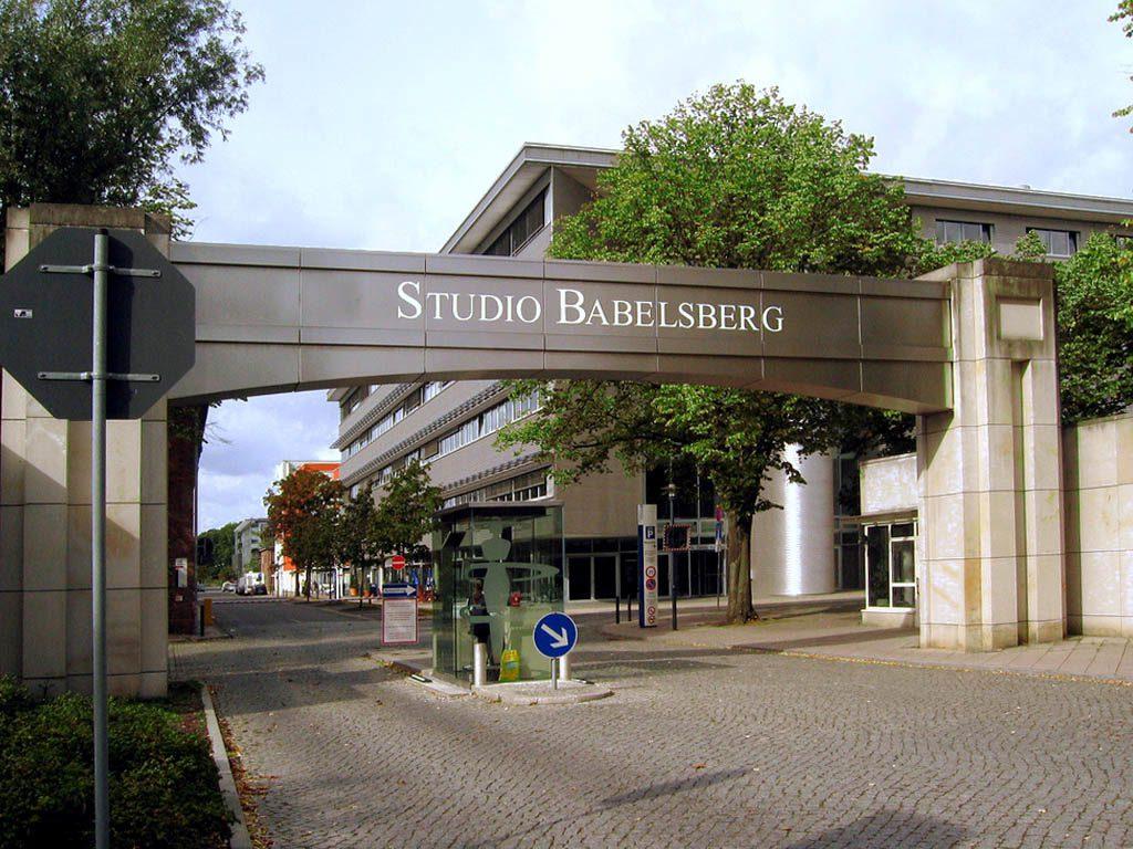 Entrance to the Babelsberg Studios
