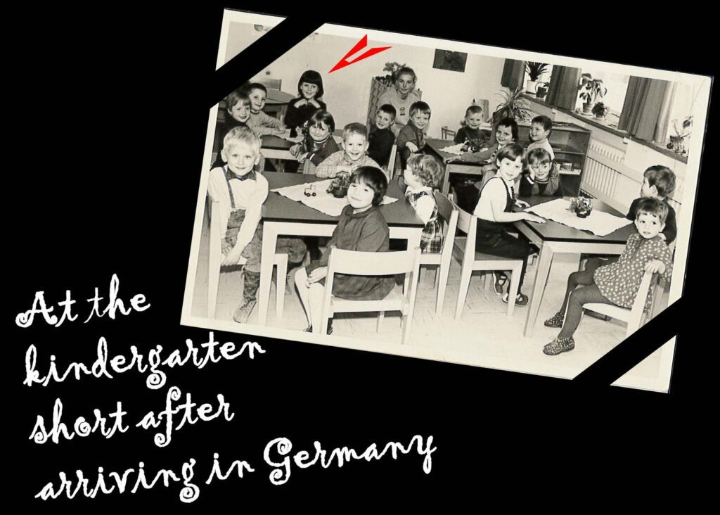 Renata Green, Citizen of the World, at her Kindergarten in Hamburg