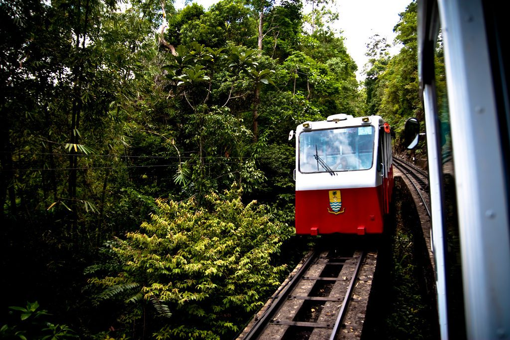 Funicular on Pulau Penang