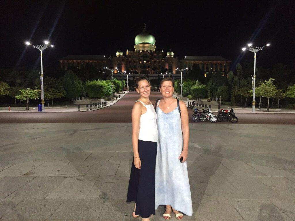 Renata Green and Mimi at Putrajaya