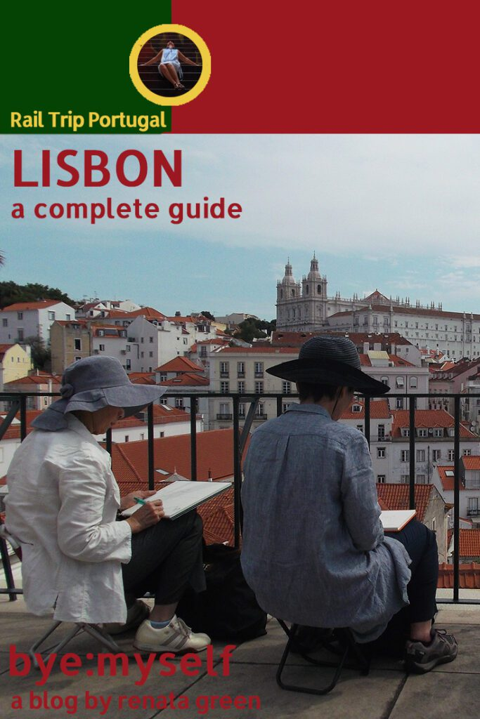 Pinnable Picture for the Post on Guide to LISBON - Crossing the City on Tram No 28