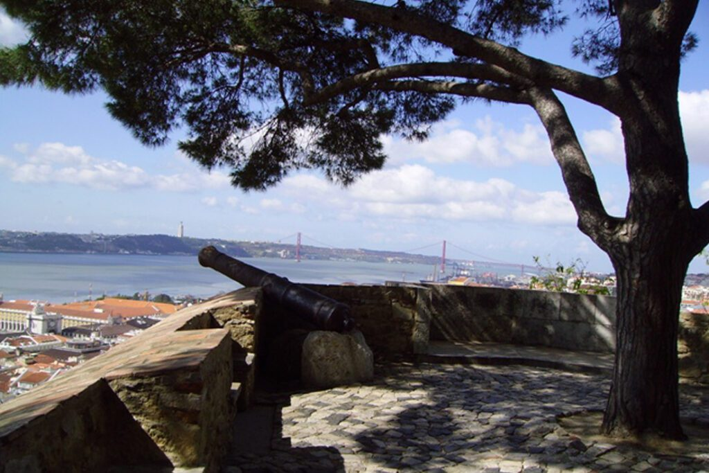 View from Castelo Sao Jorge in Lisbon