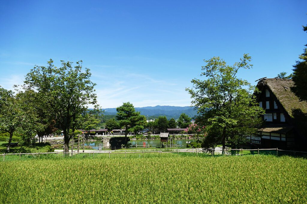 Hida Heritage Village in Takayama