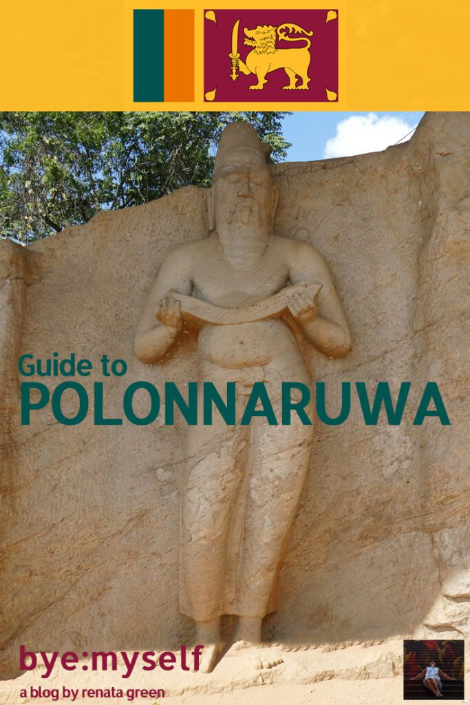 Pinnable Picture for the post on Guide to POLONNARUWA, the ancient capital of Sri Lanka
