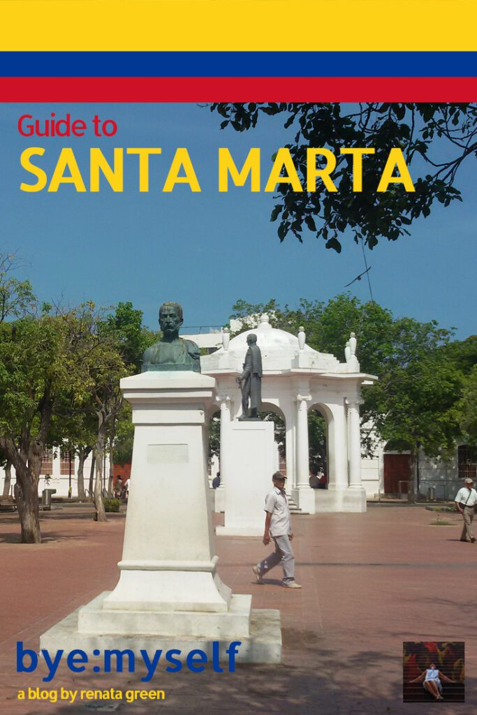 Pinnable Picture on the Post on SANTA MARTA - Spectacularly Unspectacular