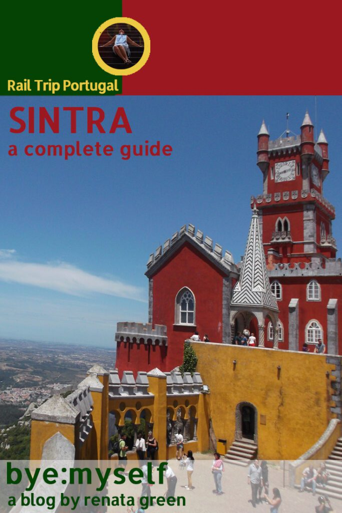 Pinnable Picture for the Post on Guide to SINTRA - History in Bright Colors