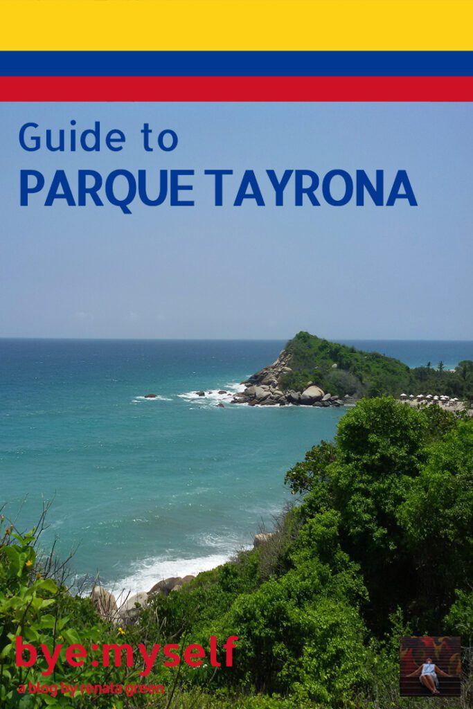 Pinnable Picture on the Post on A Day at the PARQUE TAYRONA