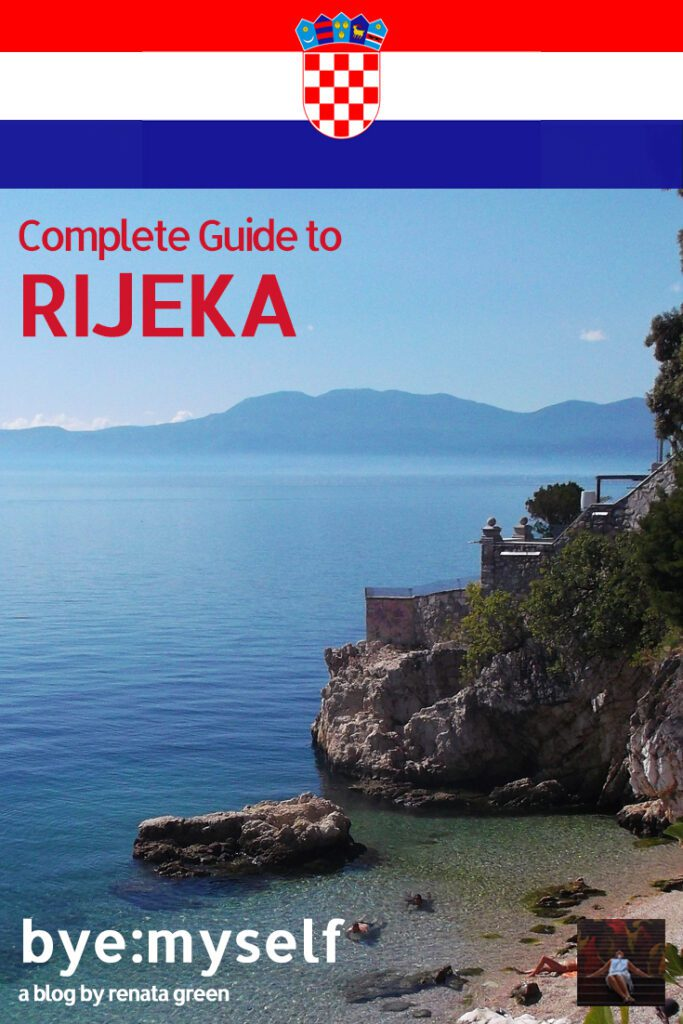 Pinnable Picture for the Post on RIJEKA, a place to enjoy the Istrian lifestyle