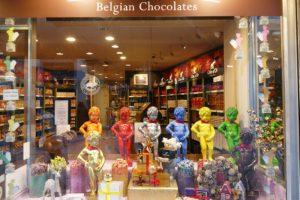 Chocolate Store in Brussels, Belgium