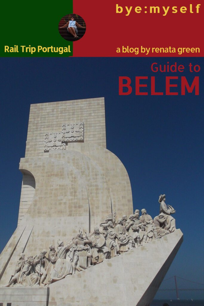 Pinnable Picture for the Post on Guide to BELÉM - Lisbon's Treasure Box