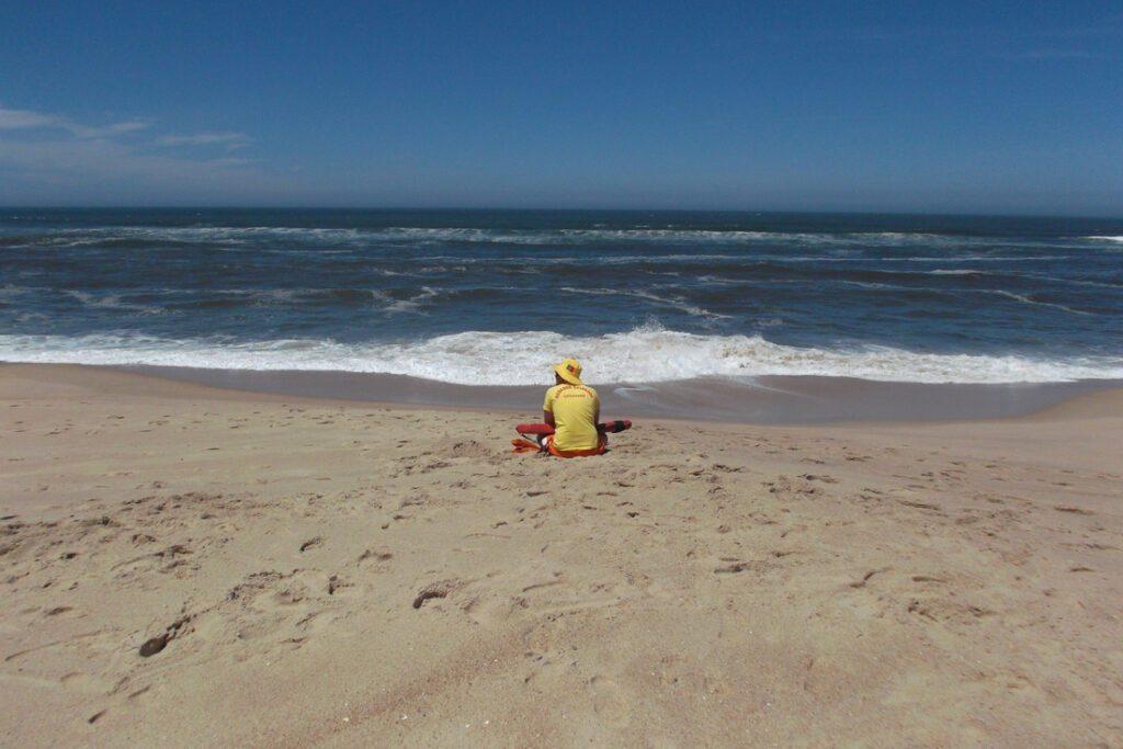 Lifeguard on the Beach of Figueira da Foz