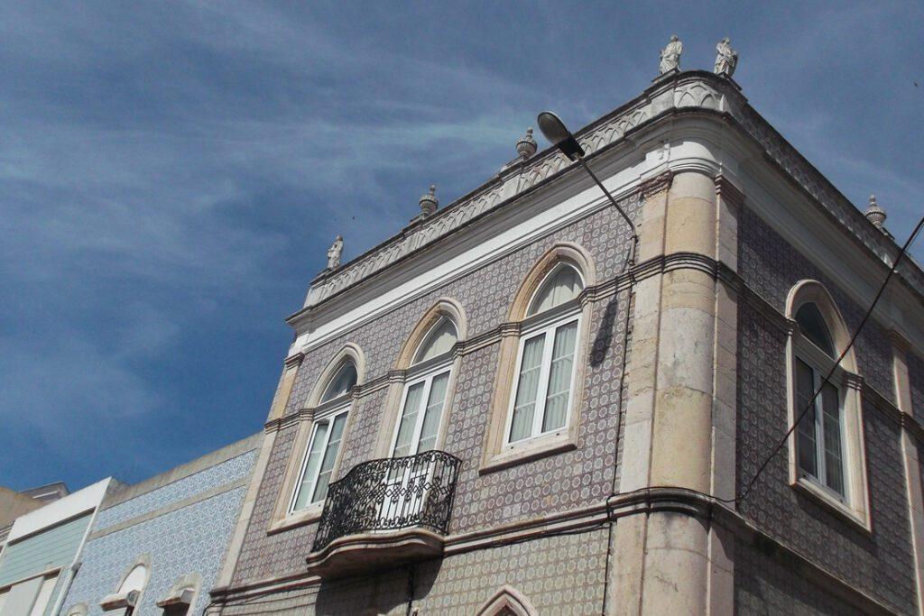 Buildings in Figueira da Foz Portugal
