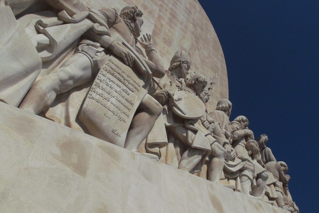 The Padrao dos Descobrimentos on the shores of the river Tagus.