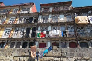 Houses in Porto in the North of Portugal