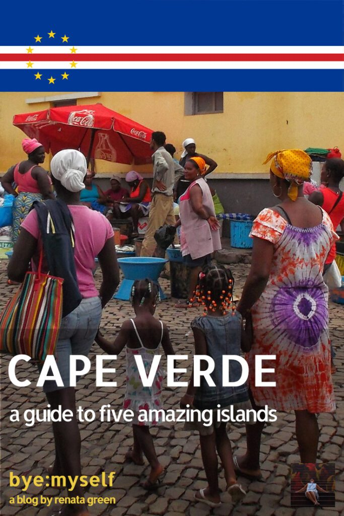 Pinnable Picture for the post on CAPE VERDE - a guide to five amazing islands